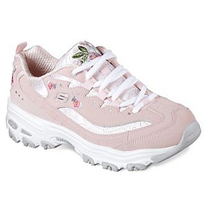 633b1c183ef7 Skechers D Lites Rose Blooms Women s Sneakers