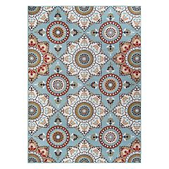 KHL Rugs Majesty Teddy Medallion Rug