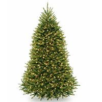 National Tree Company 7.5-ft. Pre-Lit Dunhill Fir Artificial Christmas Tree