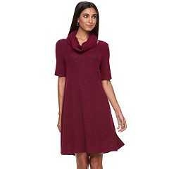 Women's Apt. 9®  Infinity Scarf & Marled Dress