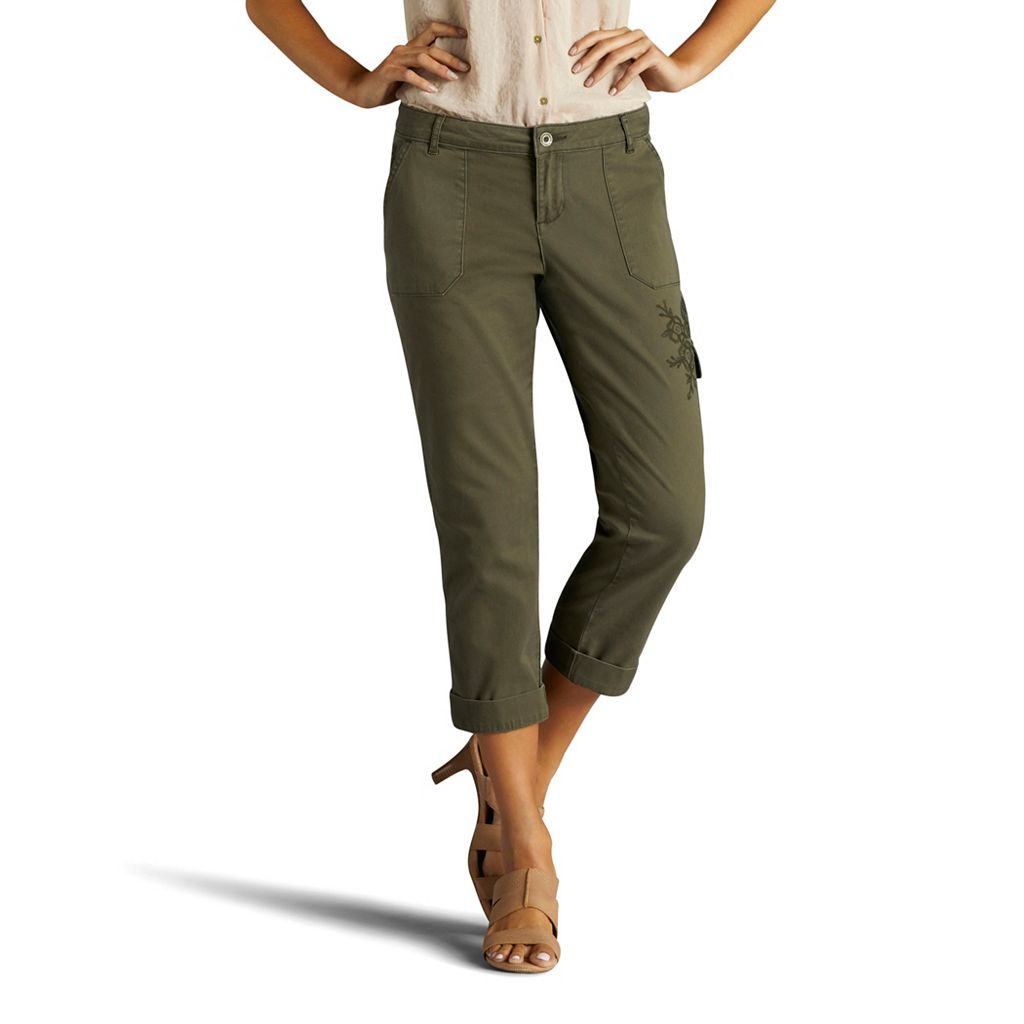 Women's Lee Cargo Crop Capris