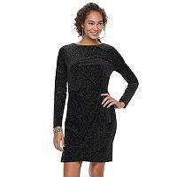 Women's Jennifer Lopez Glitter Velvet Dress