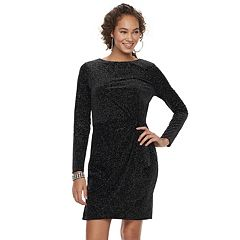 Women's Jennifer Lopez Glitter Velvet Dress
