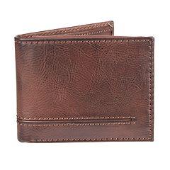 Men's Croft & Barrow® RFID-Blocking Passcase Wallet