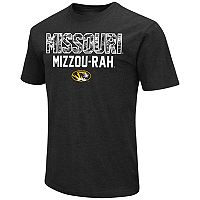 Men's Campus Heritage Missouri Tigers Camo Wordmark Tee