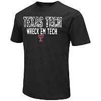 Men's Campus Heritage Texas Tech Red Raiders Camo Wordmark Tee