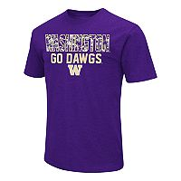 Men's Campus Heritage Washington Huskies Camo Wordmark Tee