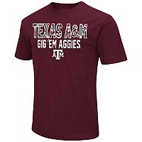 Men's Campus Heritage Texas A&M Aggies Camo Wordmark Tee