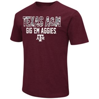 Men's Campus Heritage Texas A&M Aggies Camo Wordmark Tee