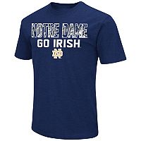 Men's Campus Heritage Notre Dame Fighting Irish Camo Wordmark Tee