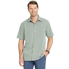 Big & Tall Van Heusen Air Classic-Fit Performance Button-Down Shirt