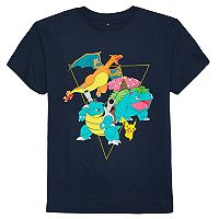 Boys 8-20 Pokemon Gang Tee