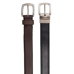 Men's Columbia 2-Pack Belts Gift Box