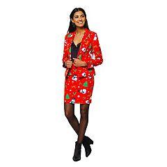 Women's OppoSuits Holiday Jacket & Skirt Set