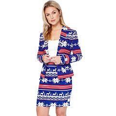 Women's Opposuits Holiday Jacket & Skirt Set