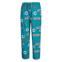 Men's Concepts Sport Miami Dolphins Slide Lounge Pants