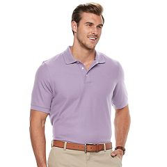 Big & Tall Croft & Barrow® Classic-Fit Easy-Care Performance Pique Polo