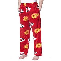 Men's Concepts Sport Kansas City Chiefs Grandstand Fleece Pants