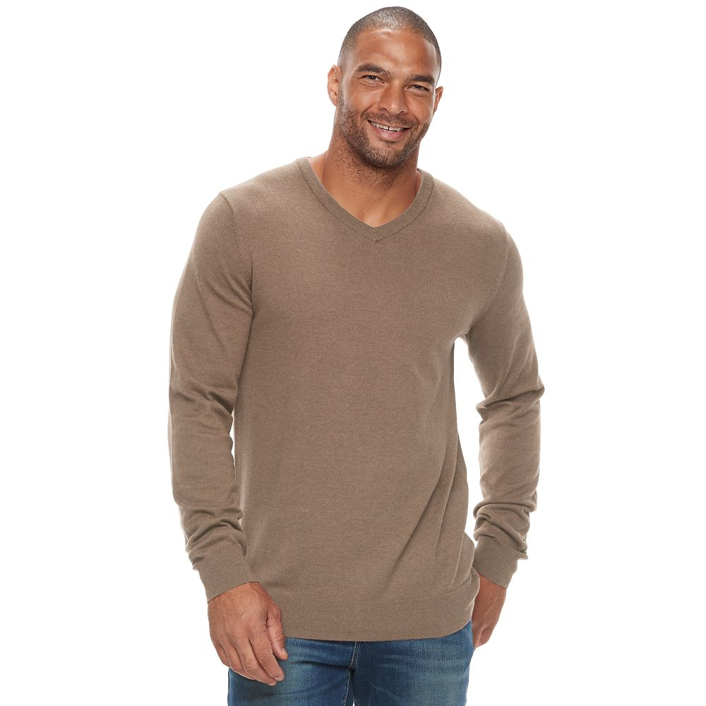 & Tall SONOMA Goods for Life™ Classic-Fit Coolmax V-Neck Sweater