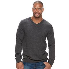 Big & Tall SONOMA Goods for Life™ Classic-Fit Coolmax V-Neck Sweater