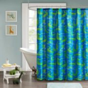 Mi Zone Kids Later Alligator Shower Curtain