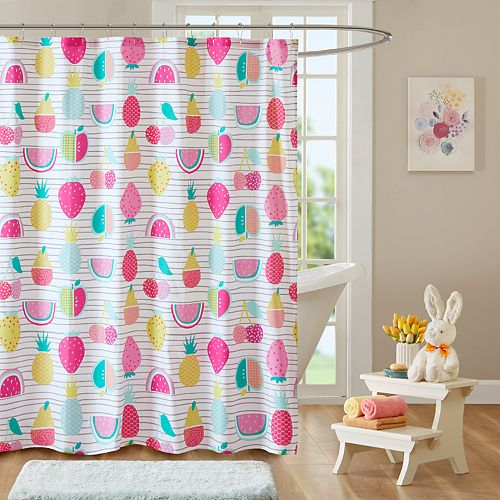 Urban Habitat Kids Water Melly Fruit Shower Curtain