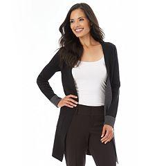 Women's Apt. 9® Open-Front Long Cardigan