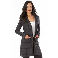 Women's Apt. 9® Open-Front Long Cardigan