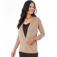 Women's Apt. 9® Faux-Wrap Sweater