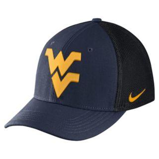 Adult Nike West Virginia Mountaineers Aero Classic 99 Flex-Fit Cap