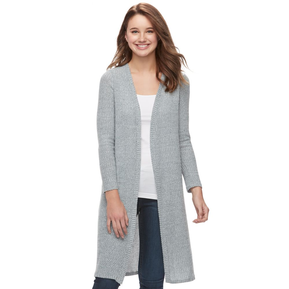 About A Girl Cozy Duster Cardigan