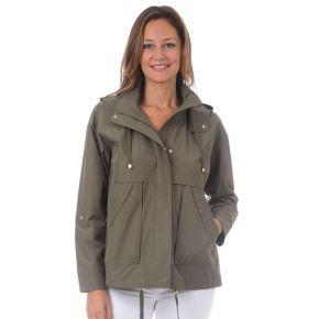 Women's Fleet Street Hooded Short Rain Coat