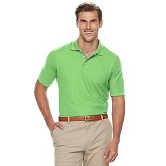 Big & Tall Croft & Barrow® Classic-Fit Easy-Care Pique Performance Pocket Polo