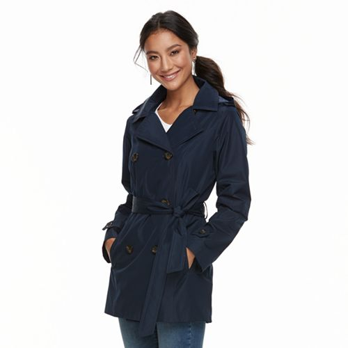 Women's d.e.t.a.i.l.s Radiance Double-Breasted Trench Jacket