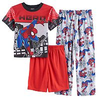 Boys 4-10 Marvel Spider-Man 3-Piece Pajamas
