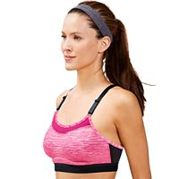 Champion Bras: The Show-Off High-Impact Wire-Free Sports Bra 1666B