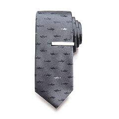 Men's Apt. 9® Shark Tie & Tie Bar Set
