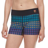 Women's FILA SPORT® Reflective Performance Shorts