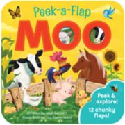 Cottage Door Press Peek-A-Flap Moo Book
