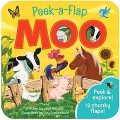 Cottage Door Press Peek-A-Flap Moo Book