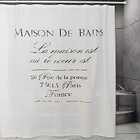 Metro Farmhouse by Park B. Smith Maison De Bains Shower Curtain