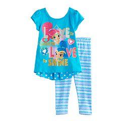 Toddler Girl Shimmer & Shine 'Love to Shimmer Love to Shine' Top & Leggings Set