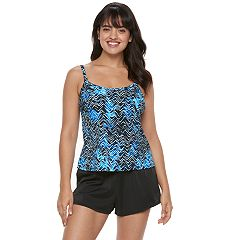 Women's Trimshaper Farrah Tummy Slimming Swim Romper