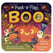 Boo! Peek-A-Flap Board Book by Cottage Door Press