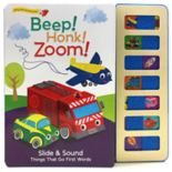 Beep! Honk! Zoom! Slider Book with Sound by Cottage Door Press