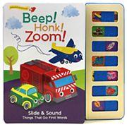 Beep! Honk! Zoom! Slider Book with Sound by Cottage Door Press