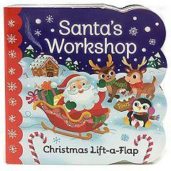 Santa's Workshop Lift a Flap Board Book by Cottage Door Press