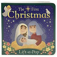 The First Christmas Lift-A-Pop Board Book by Cottage Door Press