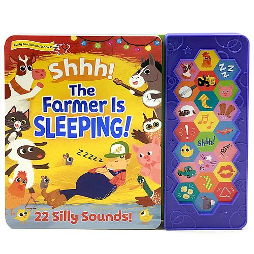 Shhh! The Farmer is Sleeping! Sound Book by Cottage Door Press