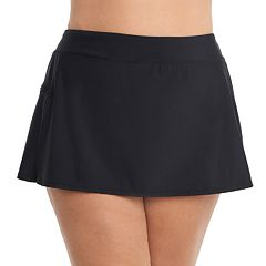 Plus Size Upstream Solid Skirtini Bottoms